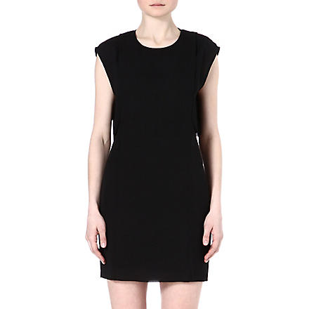 TIGER OF SWEDEN Amberley cross-back dress (Black