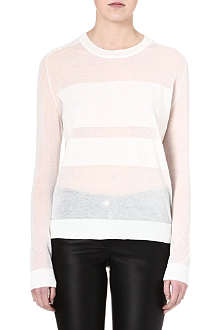 TIGER OF SWEDEN Semi-sheer long-sleeved top