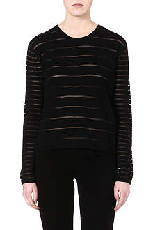 TIGER OF SWEDEN Bijou sheer stripe jumper