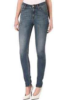 TIGER JEANS Kelly skinny high-rise jeans