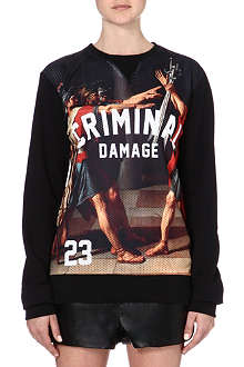 CRIMINAL DAMAGE Roman sweatshirt