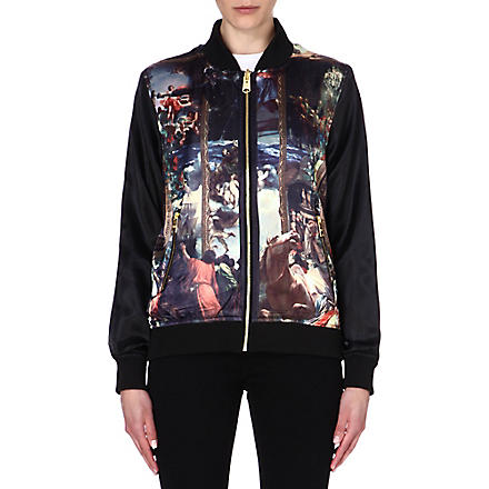 CRIMINAL DAMAGE Artist bomber jacket (Multi