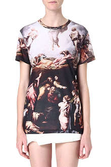 CRIMINAL DAMAGE Print cotton T-shirt