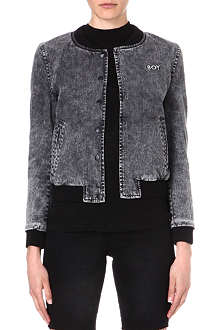 BOY LONDON Stretch-denim jacket