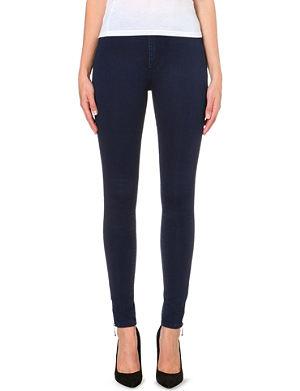 BOY LONDON Skinny high-rise jeans