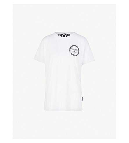 BOY LONDON Logo-print cotton-jersey T-shirt (White