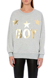 BOY LONDON Three stars sweatshirt