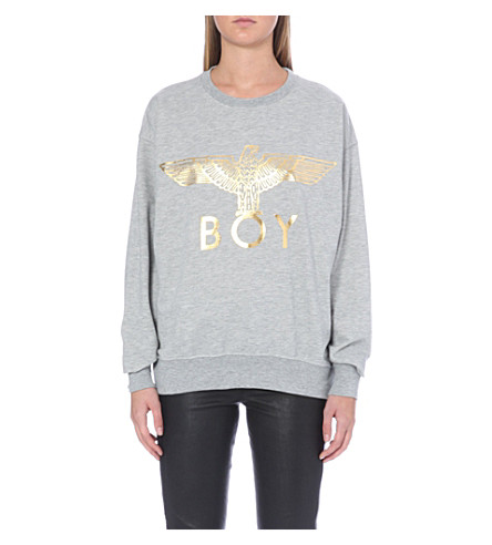 BOY LONDON Eagle sweatshirt (Grey/gold