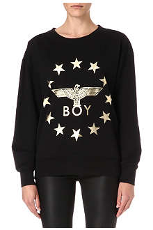 BOY LONDON Metallic stars sweatshirt