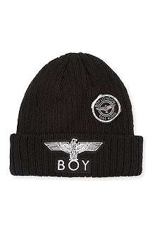 BOY LONDON Eagle appliqué beanie