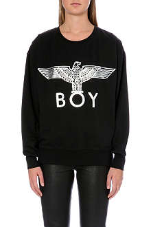 BOY LONDON Metallic eagle logo sweatshirt