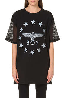 BOY LONDON Mesh sleeves top