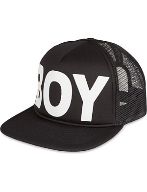 BOY LONDON Mesh snapback cap