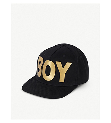BOY LONDON Snapback trucker cap (Black/gold
