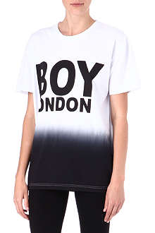 BOY LONDON Dip-dye signature t-shirt