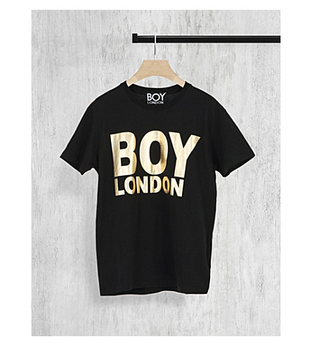 BOY LONDON Logo cotton-jersey t-shirt (Black