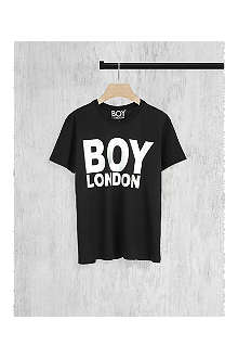 BOY LONDON Metallic logo t-shirt