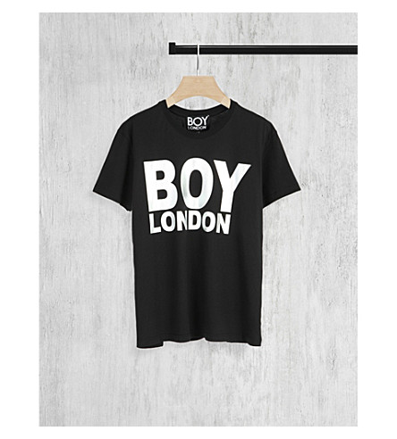 BOY LONDON Metallic logo t-shirt (Black