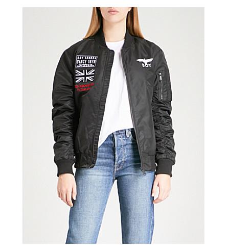 BOY LONDON Concert shell bomber jacket (Black
