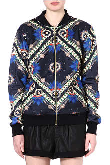 CRIMINAL DAMAGE Printed bomber jacket