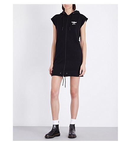 BOY LONDON Sleeveless cotton hoody (Black