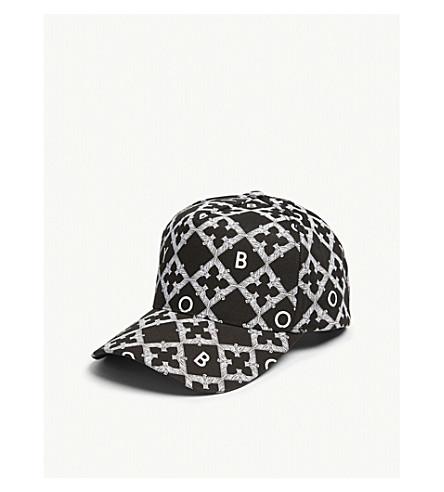 BOY LONDON Echo cotton snapback cap (Black/white