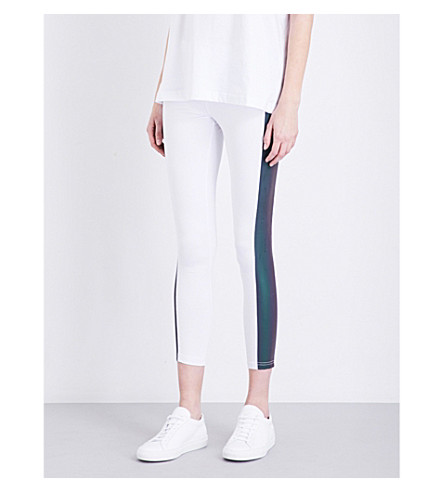 BOY LONDON Flash skinny jersey leggings (White