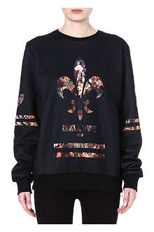 CRIMINAL DAMAGE Renaissance print sweatshirt