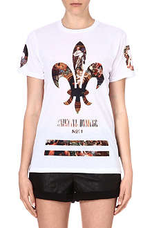 CRIMINAL DAMAGE Fleur printed t-shirt