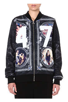 CRIMINAL DAMAGE Paintings 47 bomber jacket
