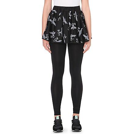 BOY LONDON Print cotton skirt (Black