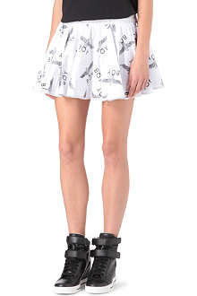 BOY LONDON Printed ra-ra skirt