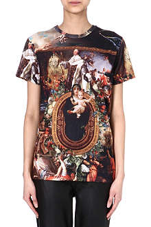 CRIMINAL DAMAGE Renaissance print t-shirt