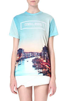 CRIMINAL DAMAGE Print jersey T-shirt