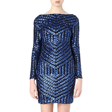ONO UNO Lucie sequinned mini dress (Blue