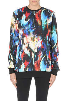 CRIMINAL DAMAGE Abstar printed sweatshirt
