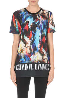 CRIMINAL DAMAGE Abstar printed t-shirt
