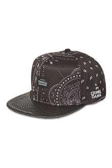 CRIMINAL DAMAGE Paisley print snapback cap