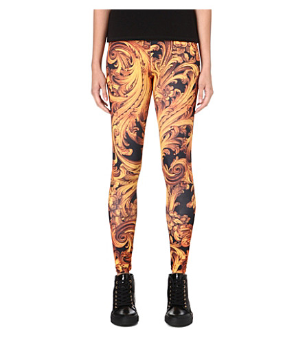 CRIMINAL DAMAGE Baroque leggings (Multi