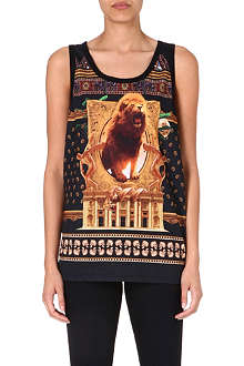CRIMINAL DAMAGE Lions den vest top