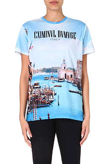 CRIMINAL DAMAGE Port t-shirt