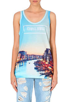 CRIMINAL DAMAGE Venice print t-shirt