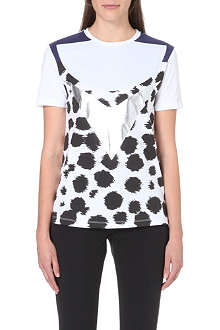 ETRE CECILE Cheetah-print cotton-jersey t-shirt