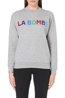 ETRE CECILE La Bombe cotton-jersey sweatshirt