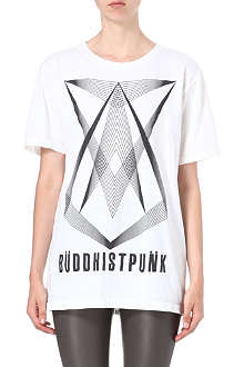 BUDDHIST PUNK Ennegram cotton t-shirt