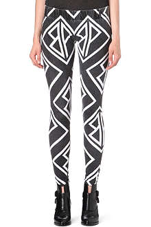 BUDDHIST PUNK Printed leggings