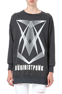 BUDDHIST PUNK Ennegram oversized jumper