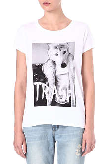 ELEVEN PARIS Trash Wolf t-shirt