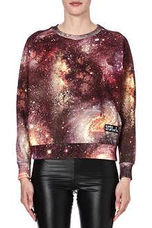 ELEVEN PARIS Cosmic-print jersey sweatshirt
