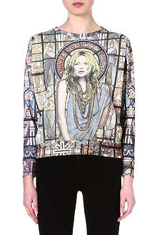 ELEVEN PARIS Moss Stained Glass sweatshirt